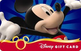$100.00 Disney Gift Card Giveaway