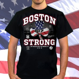 Boston Strong T-Shirt by Liquid Blue - All Proceeds go to The One Fund Boston! $12.99 + Free Shipping