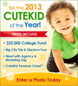 Cute Kid of the Year Contest