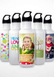 FREE Customized Water Bottle
