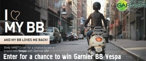 Garnier's BB Vespa Sweepstakes