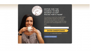 Green Mountain Coffee Perfect Cup Sweepstakes & Instant Win Game