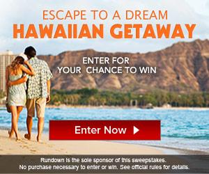 Hawaiin Getaway Sweepstakes