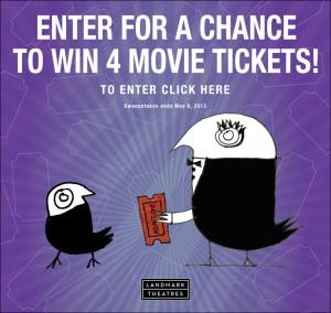 Landmark Theatres Win Movie Tickets Sweepstakes