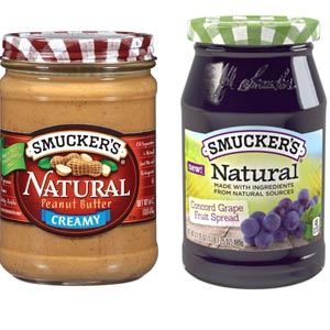 Womans Day Smucker's Natural Peanut Butter and Fruit Spread Giveaway