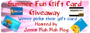 $100 Gift Card of Winner's Choice Giveaway