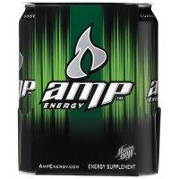 4pk of Amp Energy