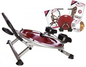 Ab Circle Pro Abdominal Treadmill w 3-Minute Express Workout DVD & Easy Storage. Fun & Easy Way to Work Out
