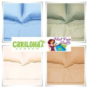 CARILOHA BAMBOO BED SHEET SET GIVEAWAY