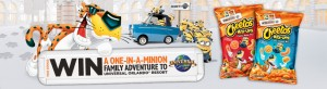 Cheetos One-in-a-Minion Sweepstakes