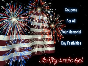 Coupons for ALL your Memorial Day Needs1