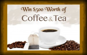 Enter to Win $500 worth of Coffee