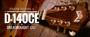 Enter to win a Guild D-140CE Guitar