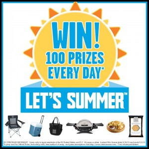 Food Should Taste Good Let's Summer Instant Win Game