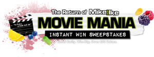Just Born Inc. The Return of MIKE AND IKE Movie Mania Sweepstakes & Instant Win Game