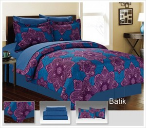 Manhattan Lights 8-Piece Bed in a Bag with Reversible Comforter & Sheet Set - 12 Pattern Options