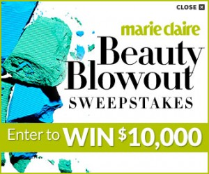 Marie Claire Lea Michele's Favorite Beauty Products Sweepstakes