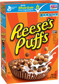 ONE BOX Reese's Puffs cereal
