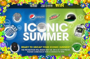 Pepsi and Mountain Dew Iconic Summer Sweepstakes