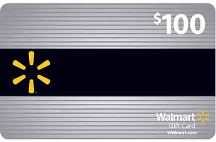 $100 Walmart Gift Card Contest