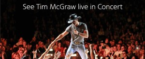 American Airlines AAdvantage Tim McGraw Concert Flyaway Sweepstakes