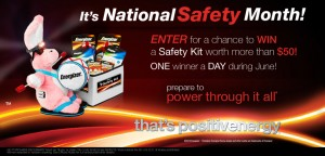 Energizer - Safe At Home Sweepstakes
