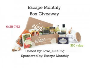 Escape Monthly Box Giveaway