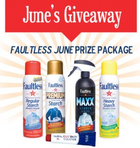 Faultless Starch Bon Ami Company June Giveaway