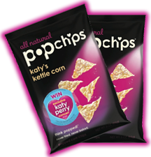 Katy's Kettle Corn Popchips Instant Win Game