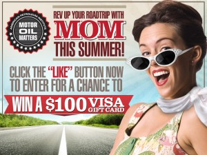 """Motor Oil Matters """"Rev Up Your Road Trip"""" Sweepstakes"""