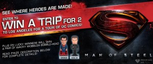 Spencer's Man of Steel Sweepstakes