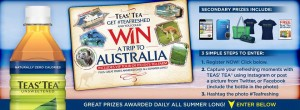 Teas' Tea Get #Teafreshed Summer Sweepstakes