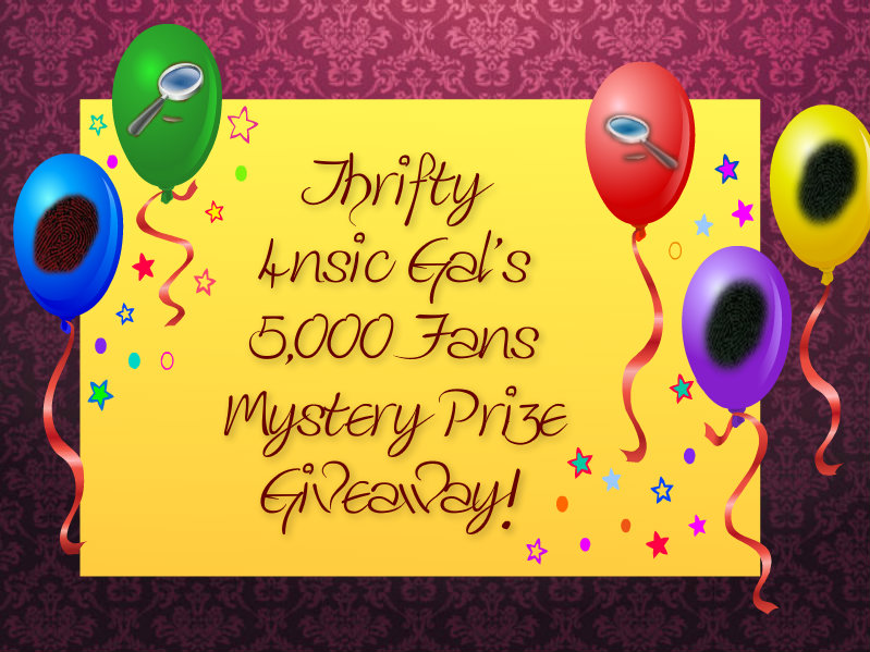 Thrifty 4nsic Gal's 5,000 Fans Mystery Giveaway – Multiple Winners
