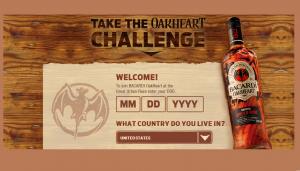 BACARDI OakHeart Challenge Sweepstakes