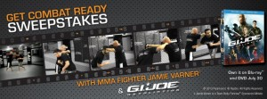 Body Fortress G.I. Joe Retaliation Sweepstakes