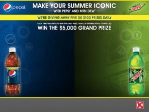 Circle K – Pepsi Iconic Summer Sweepstakes