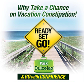 Dulcolax Summer Travel Sweepstakes