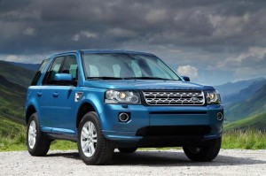 Enter to Win a NEW Land Rover LR2