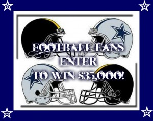 Football Fans Sweepstakes - Enter to Win $35,000