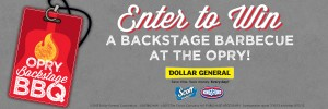 Grand Ole Opry Backstage BBQ On-Line Sweepstakes