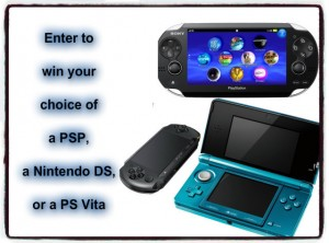 Handheld Game System Sweepstakes
