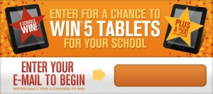 Labels for Education Back to School Sweepstakes