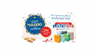 Lance Back to School Sweepstakes & Instant Win Game