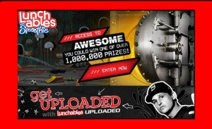 Lunchables Access to Awesome Instant Win Game