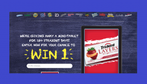Nabisco Back to School Mini Tablet A Day Giveaway
