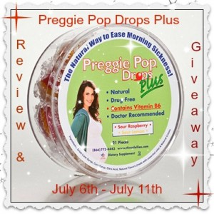 Preggie Pop Drops Plus Giveaway