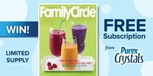 Purex Family Circle Sweepstakes