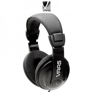 Vaas DJ Noise Isolating Stereo Headphones with 7 Foot Cord