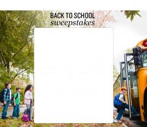 iVillage Back to School Sweepstakes