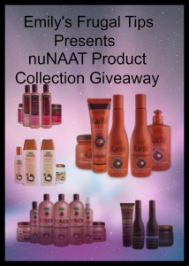 nuNAAT Product Collection Giveaway